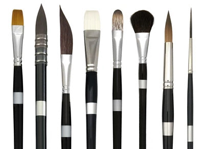 Brushes For Oil Painting Types And Uses Trekell Art Supplies