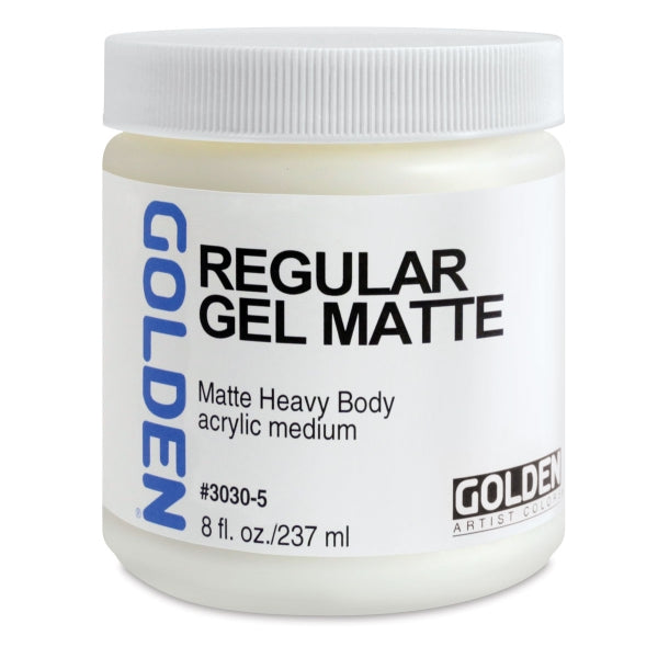 Golden Regular Gel Matte Medium