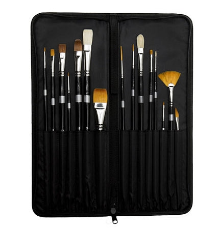 Paint Brush Case Artist Brushes Carrying Case Protector