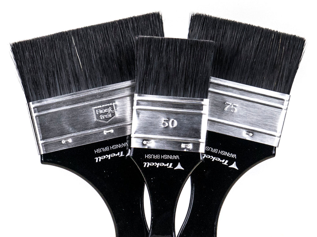 Artist Brushes for Varnish Varnishing