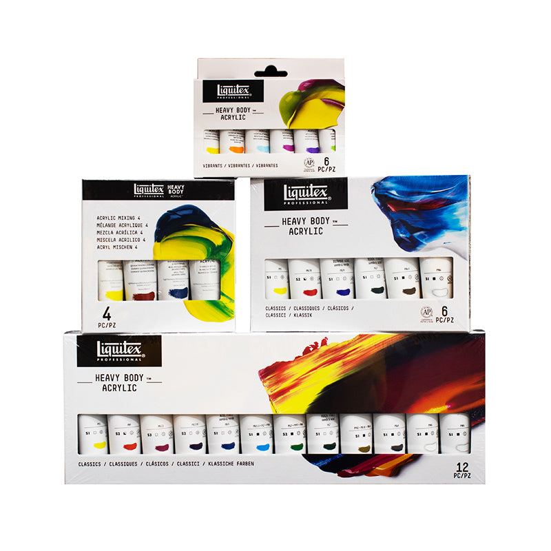 Liquitex Acrylic Paint Sets