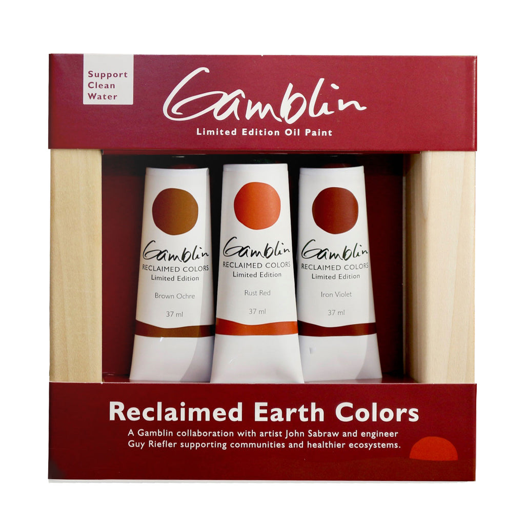 Gamblin Reclaimed Earth Set - Limited Edition