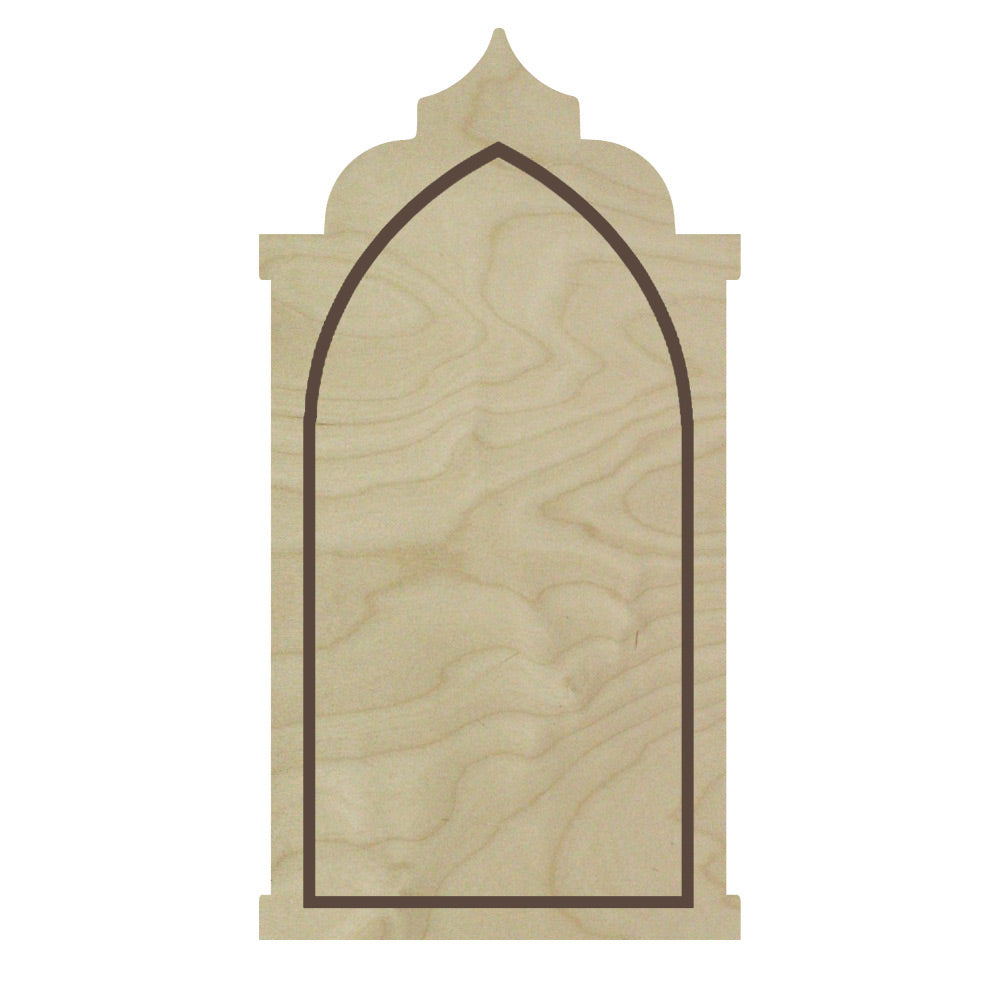 Gothic Abbey Floater Panel