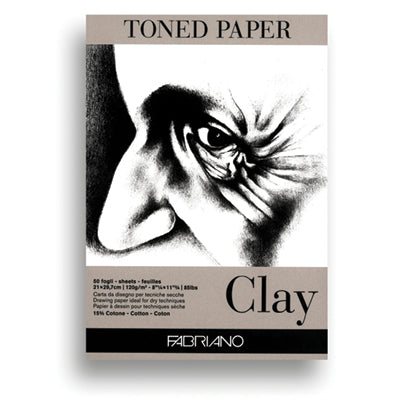 Clay Toned Fabriano Paper
