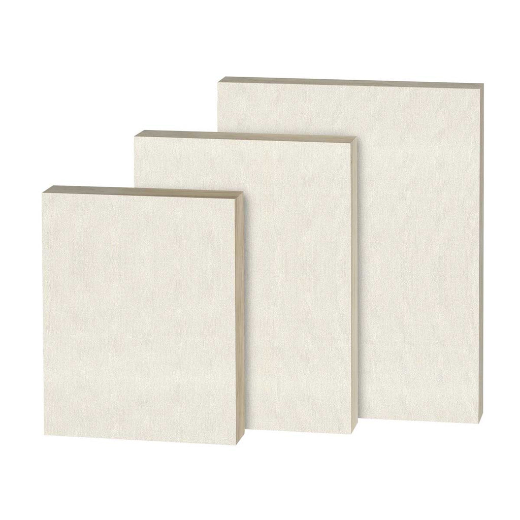 Lead Primed Linen Panel Painting Board Canvas Cradled