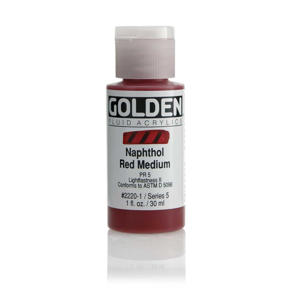 Golden Fluid Acrylic - 1 oz - 30% Off MSRP