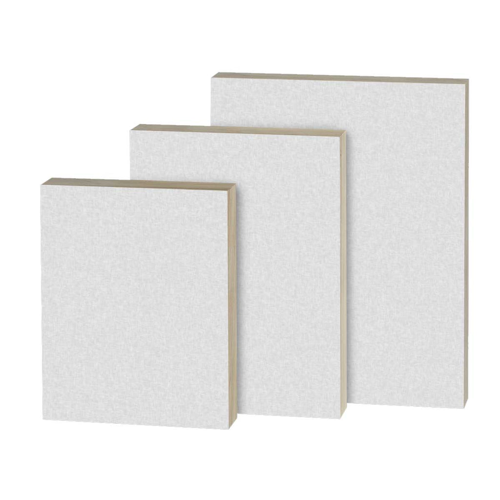 "Watercolor Paper Baltic Birch Panel - 1"" Traditional Profile"