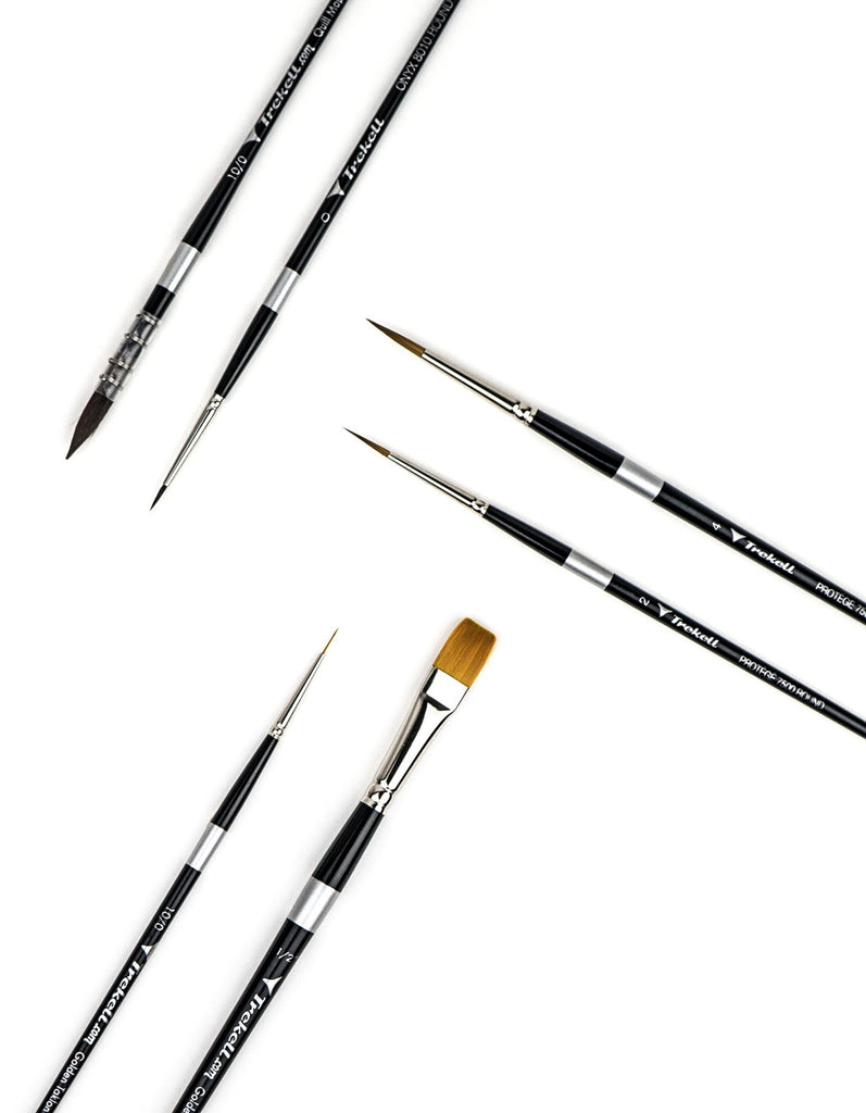Artist Brush Set for Watercolor Paint
