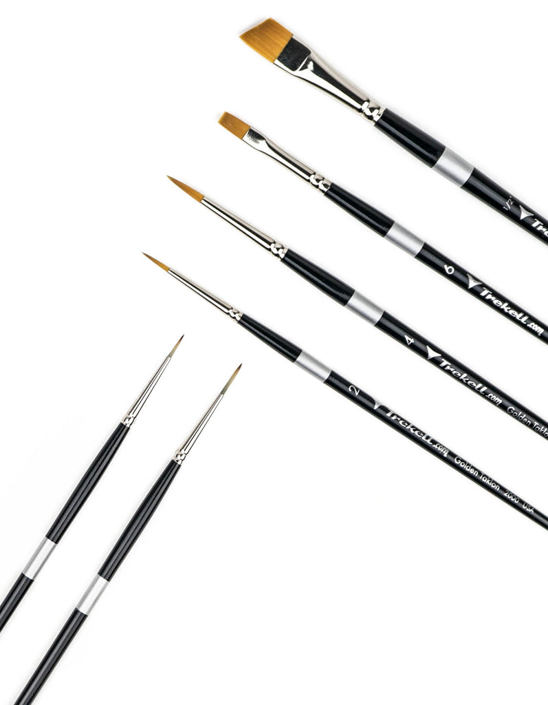 Acrylic Paint Brush Set For Artists