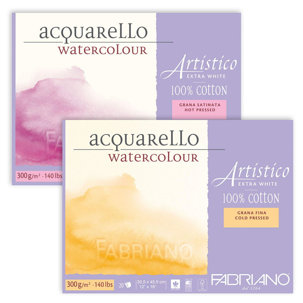 Fabriano Artistico Watercolor Paper
