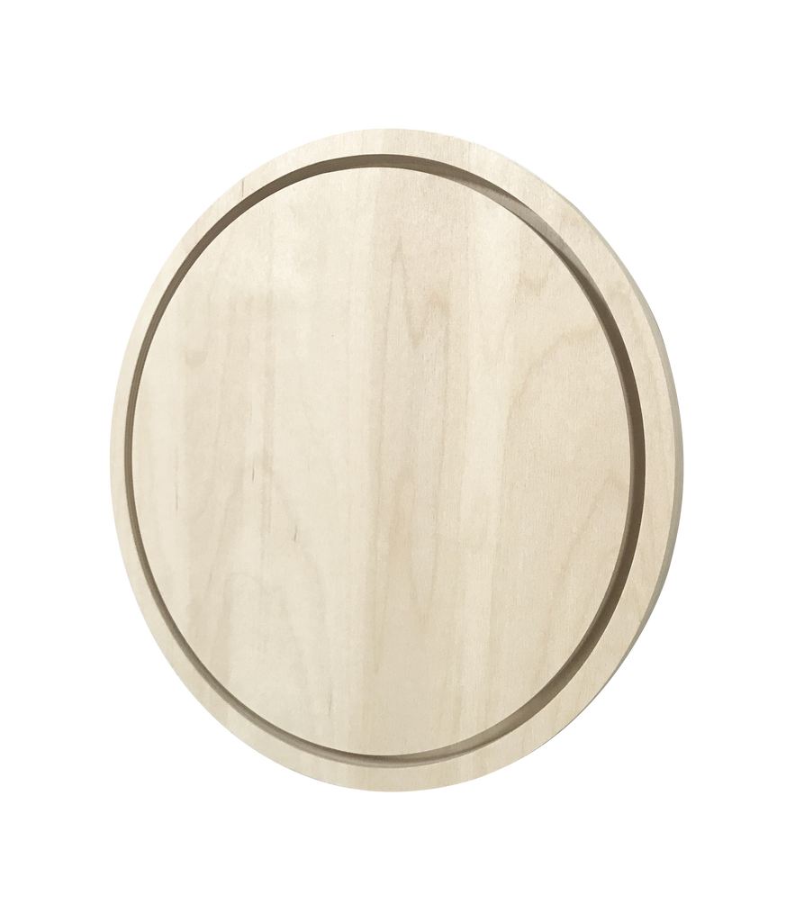 Round Floater Artist Painting Panel Frame Circle Wood