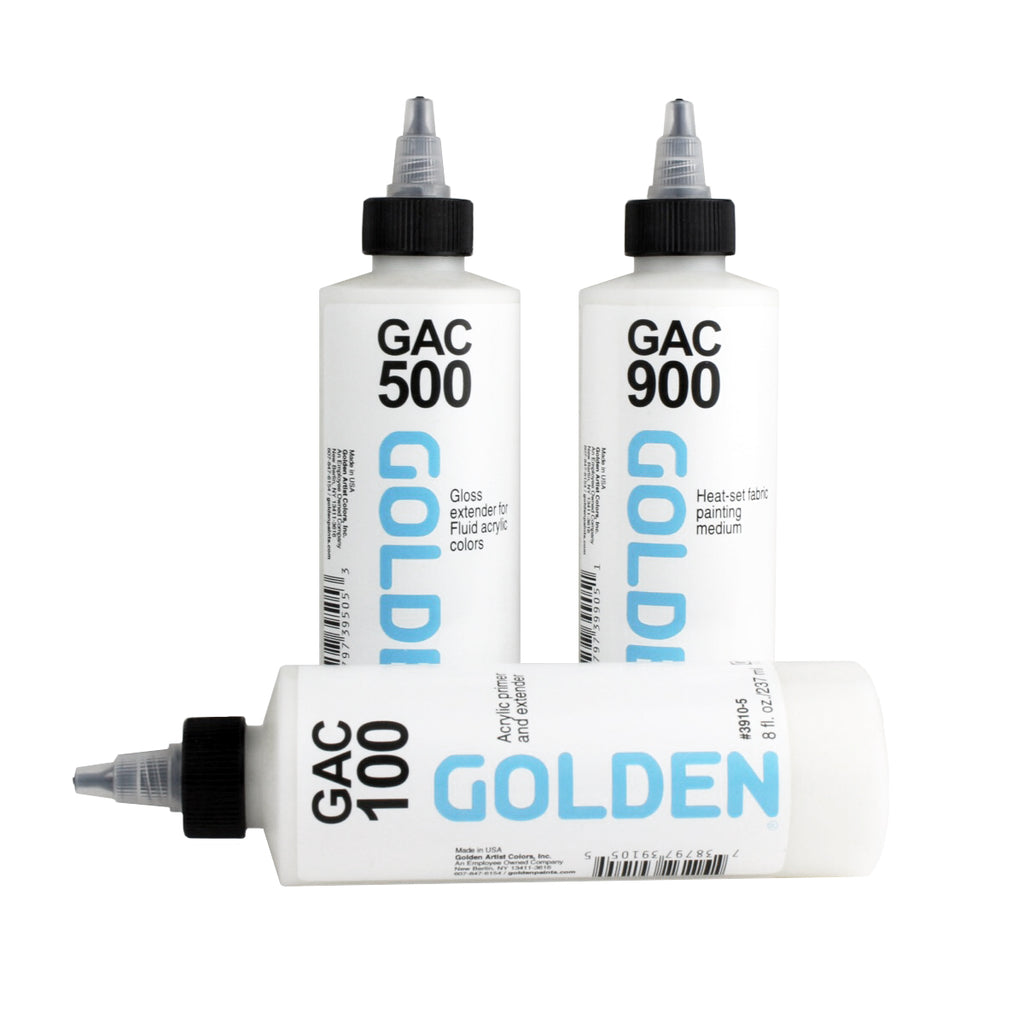 Golden GAC Acrylic Mediums