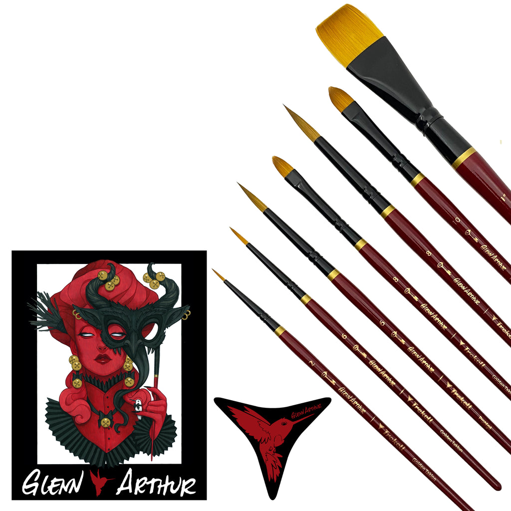 Glenn Arthur Limited Edition Holiday Brush Set