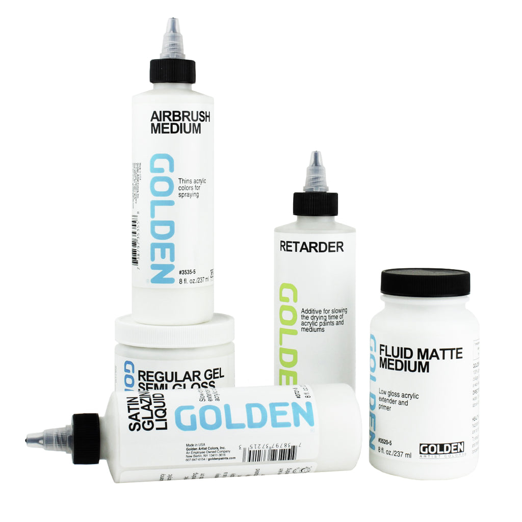 Golden Acrylic Mediums for Artist Paint