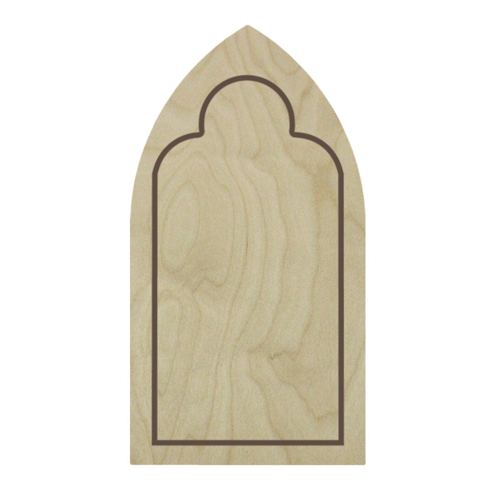 Gothic Arch Floater Panel