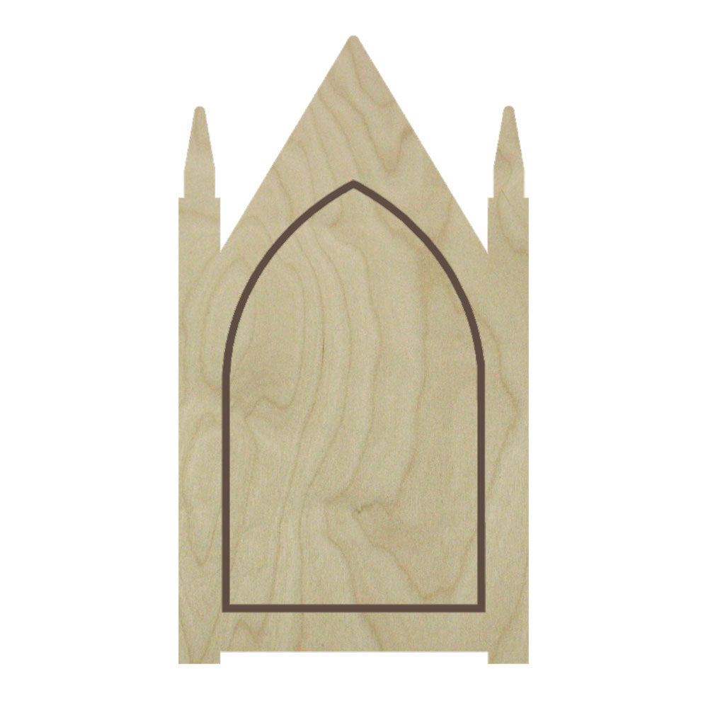 Gothic Steeple Floater Panel