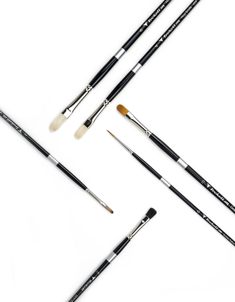 Artist Brush Set for Oil Paint