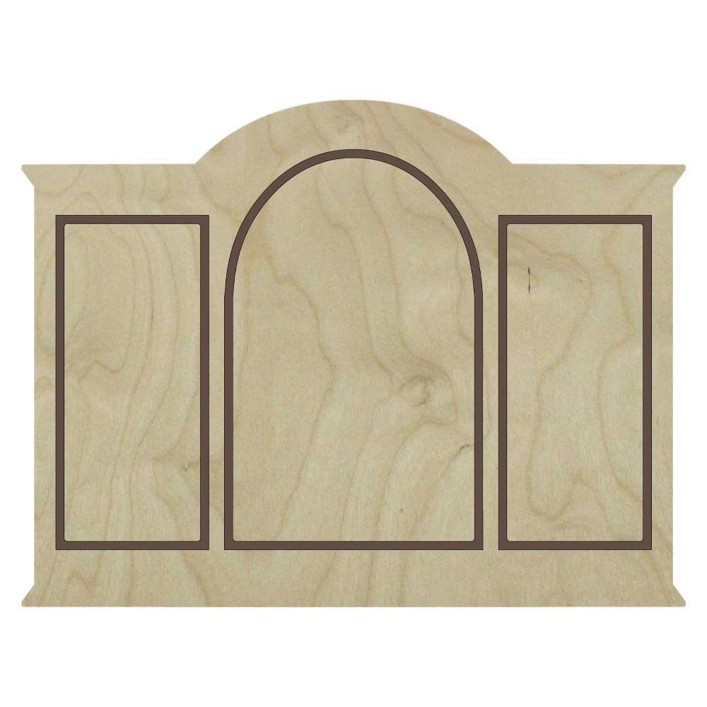 Gothic Palladian Floater Panels