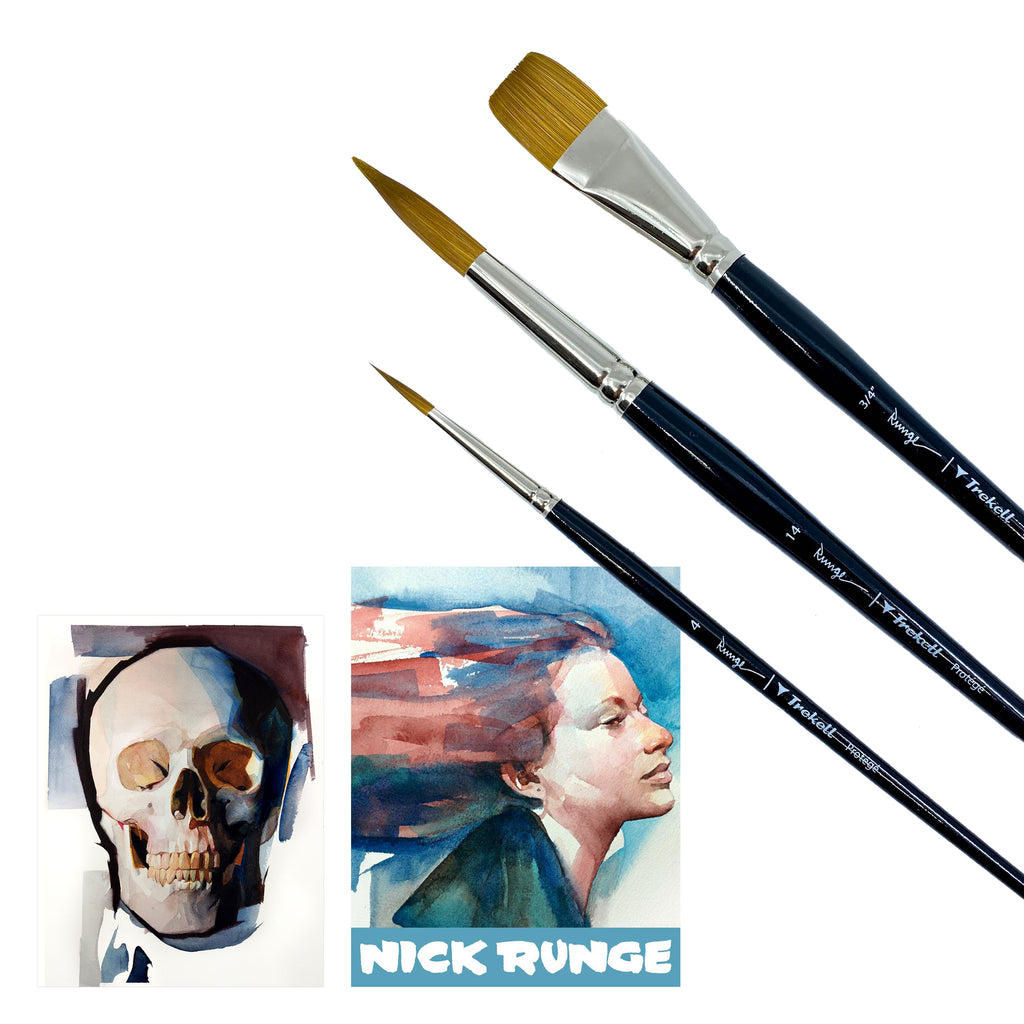 Nick Runge Limited Edition Brush Set