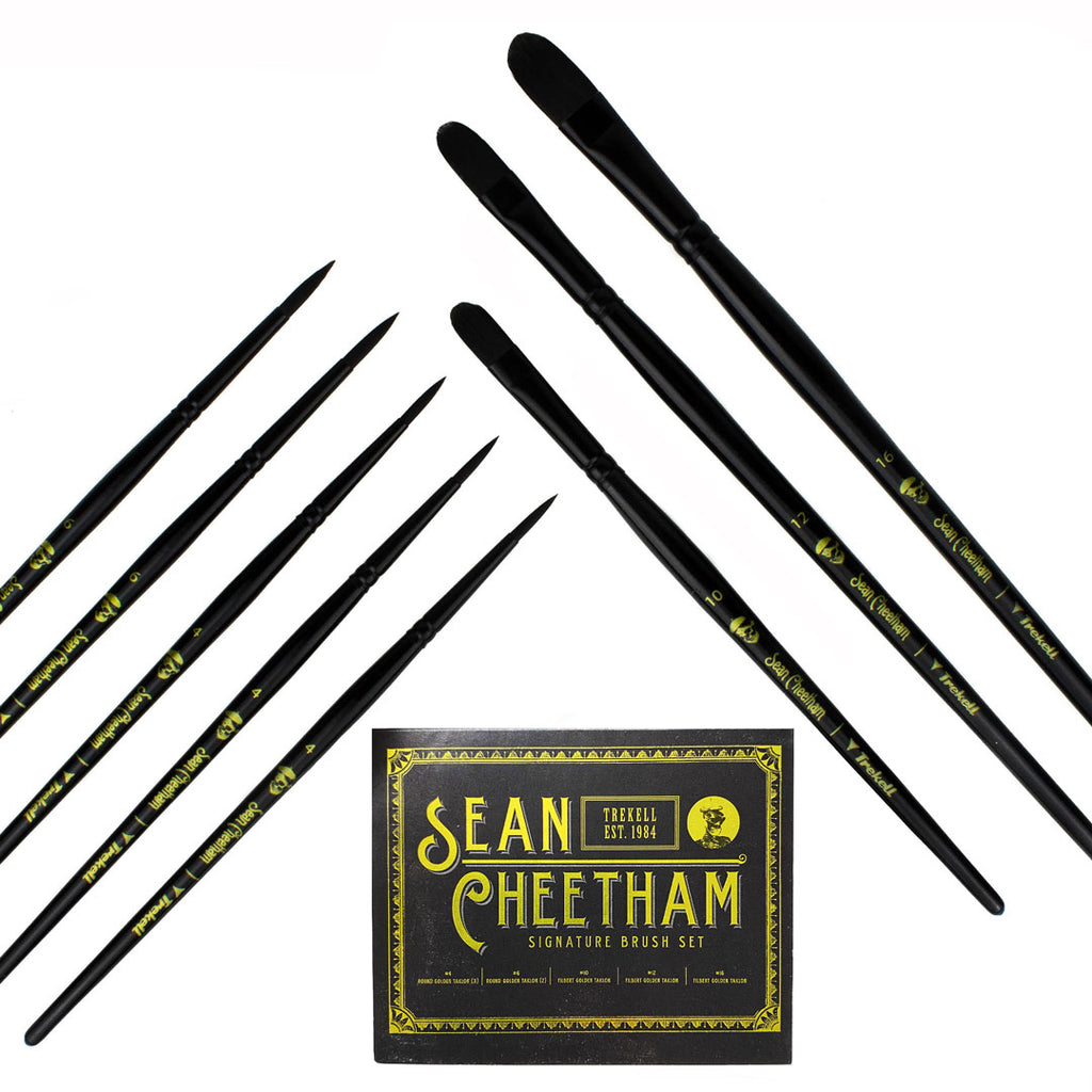 Sean Cheetham Limited Edition Brush Set