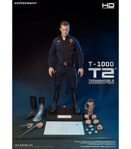 ENTERBAY REAL MASTERPIECE HD-1014 TERMINATOR 2 - THE JUDGMENT DAY T1000 1/4 SCALE FIGURE