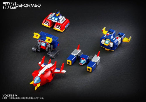 ACTION TOYS MINI DEFORMED SERIES 02 - VOLTES