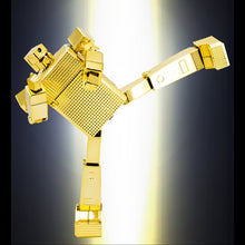 Load image into Gallery viewer, POSE+ METAL P+01 GOLD LIGHTAN DIECAST FIGURE
