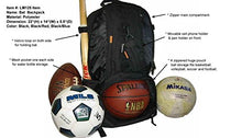 Load image into Gallery viewer, Baseball Backpack with Basketball Football Soccer Ball Storage Helmet Compartment - k-cliffs