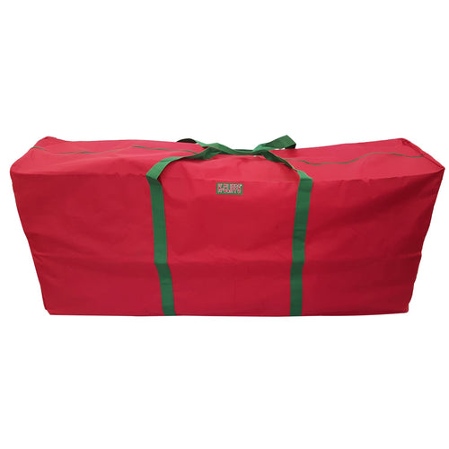 Heavy Duty Christmas Tree Storage Bag Quality Big Xmas Ornament Garland Wreaths Holiday Decoration Duffel Bags Fit Upto 9 Foot Artificial Tree Red Extra Large - k-cliffs