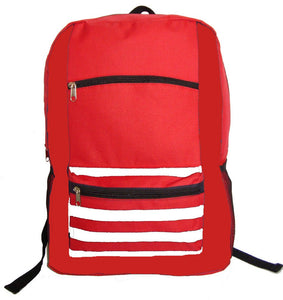Classic Backpack Wholesale 18 Inch Basic Bookbag Bulk School Book Bags 40pcs Lot - k-cliffs