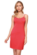 Load image into Gallery viewer, Women's Seamless Cami Slip-on BodyCon Dress with Straps