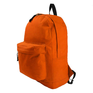 Basic Emergency Survival Backpack Classic Simple School Book Bag Student Daily Daypack 18 Inch - k-cliffs