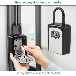 Set Your Own Combination Portable Lock Box | Holds up to 5 Keys | Realtor's Open House - k-cliffs