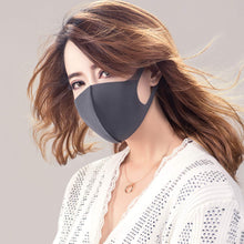 Load image into Gallery viewer, Fabric Face Mask Reusable Basic Protective Mouth Cover Black Camouflage