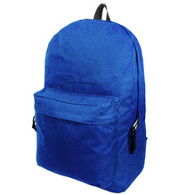 "Load image into Gallery viewer, 18"" Classic Basic Backpack w/Padded Back and Side Pocket - k-cliffs"