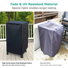 "Load image into Gallery viewer, Waterproof Electric Smoker Cover Square Grill Cover UV Resistant Durable Material for 30"" Grills - k-cliffs"
