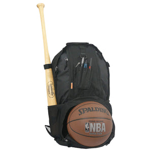 Baseball Backpack with Basketball Football Soccer Ball Storage Helmet Compartment - k-cliffs