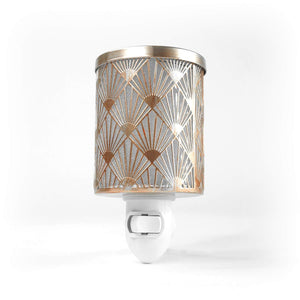 K-Cliffs Plug-in Night Light Fragrance Warmer Diffuser for Scented Wax Cubes & Essential Oils - k-cliffs