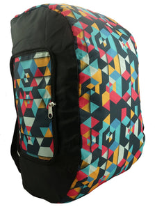 2-in-1 Reversible Backpack & Convertible Duffel Bag | Black