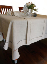 Load image into Gallery viewer, Hemstitched Table Runner Table Cloth - k-cliffs