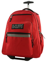 Load image into Gallery viewer, Rolling Backpack School Backpacks with Wheels Deluxe Trolley Book Bag Multiple Pockets - k-cliffs