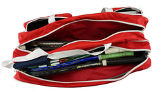 Load image into Gallery viewer, K-Cliffs Tennis Racket Bag | Deluxe Ballistic Nylon | Shoe Compartment - k-cliffs