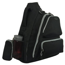 Load image into Gallery viewer, K-Cliffs Water-Resistant Sling Backpack | Safety Retro-Reflective Strip - k-cliffs