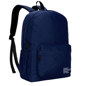 Quality Basic School Backpack Simple Student School Bag Lightweight Durable Daypack - k-cliffs