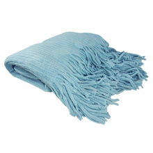 Load image into Gallery viewer, Deluxe Knitted Throw Blanket Womens Poncho Shawl Cloak Winter Long Scarf w/Fringes - k-cliffs