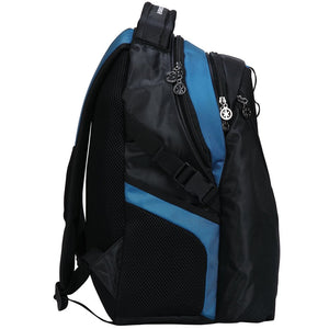 "Deluxe Backpack Heavy Duty Bookbag iPad Tablet Travel Bag fits 15"" Laptop - k-cliffs"