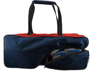 K-Cliffs Tennis Racket Bag | Deluxe Ballistic Nylon | Shoe Compartment - k-cliffs