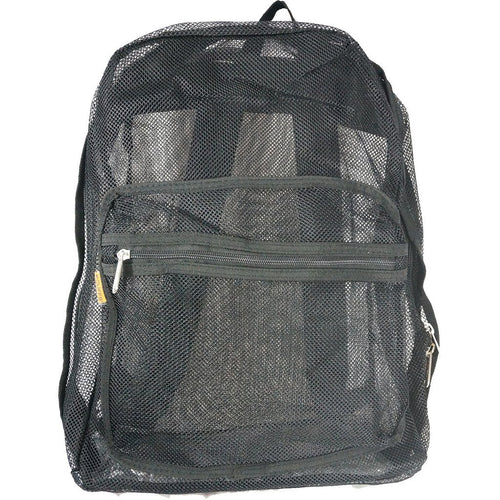 Mesh Backpack See through Student School Bag Bookbag Mesh Daypack - k-cliffs