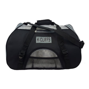 K-Cliffs Soft Sided Pet Carrier Heavy Duty Dog Cat Comfort Carrier Travel Tote Bag with Fleece Bed Small to Medium Size - k-cliffs
