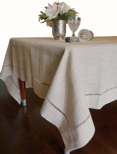 Hemstitched Table Runner Table Cloth - k-cliffs